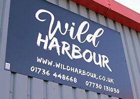 Wild Harbour sign